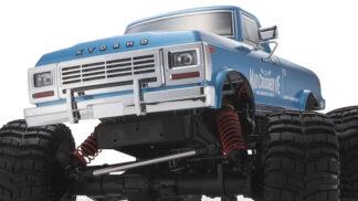 1/8スケール ラジオコントロール ブラシレスモーターパワード 4WD モンスタートラック マッドクラッシャー VE レディセット