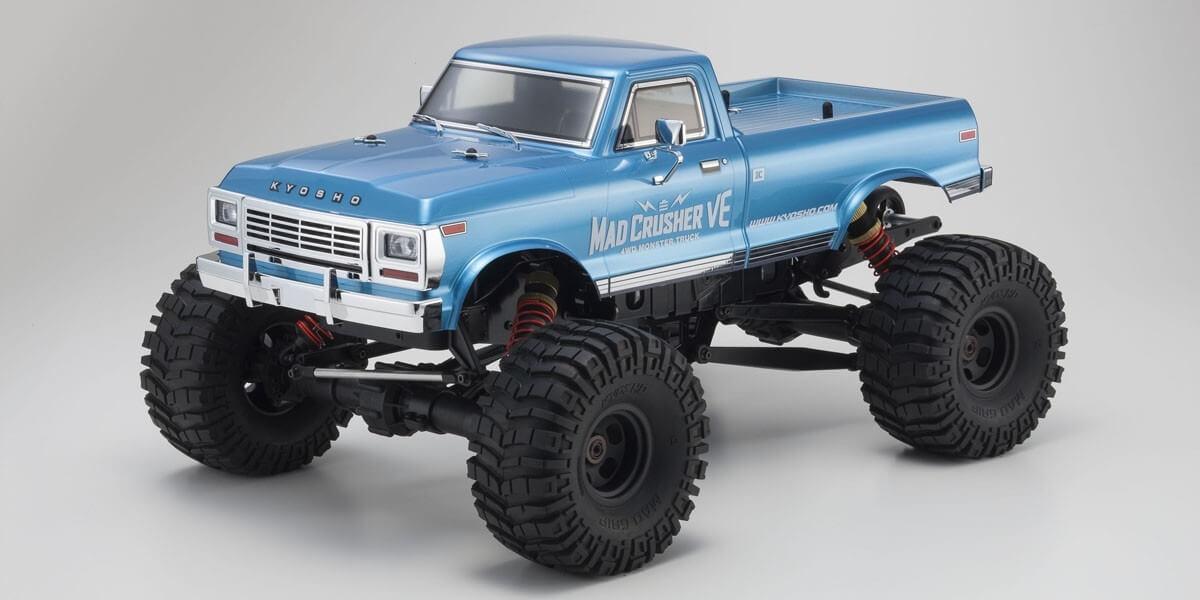 マッドクラッシャー VE 1/8 EP 4WD モンスタートラック レディセット
