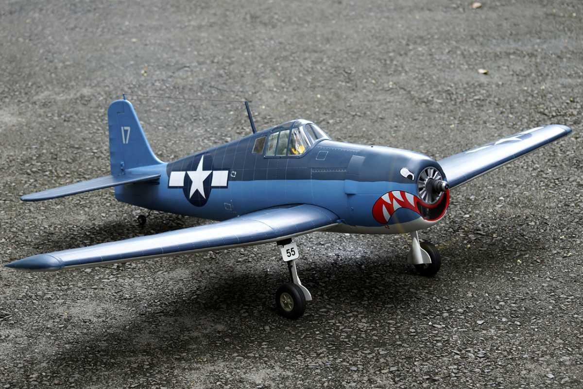 F6F HellCat 46 size