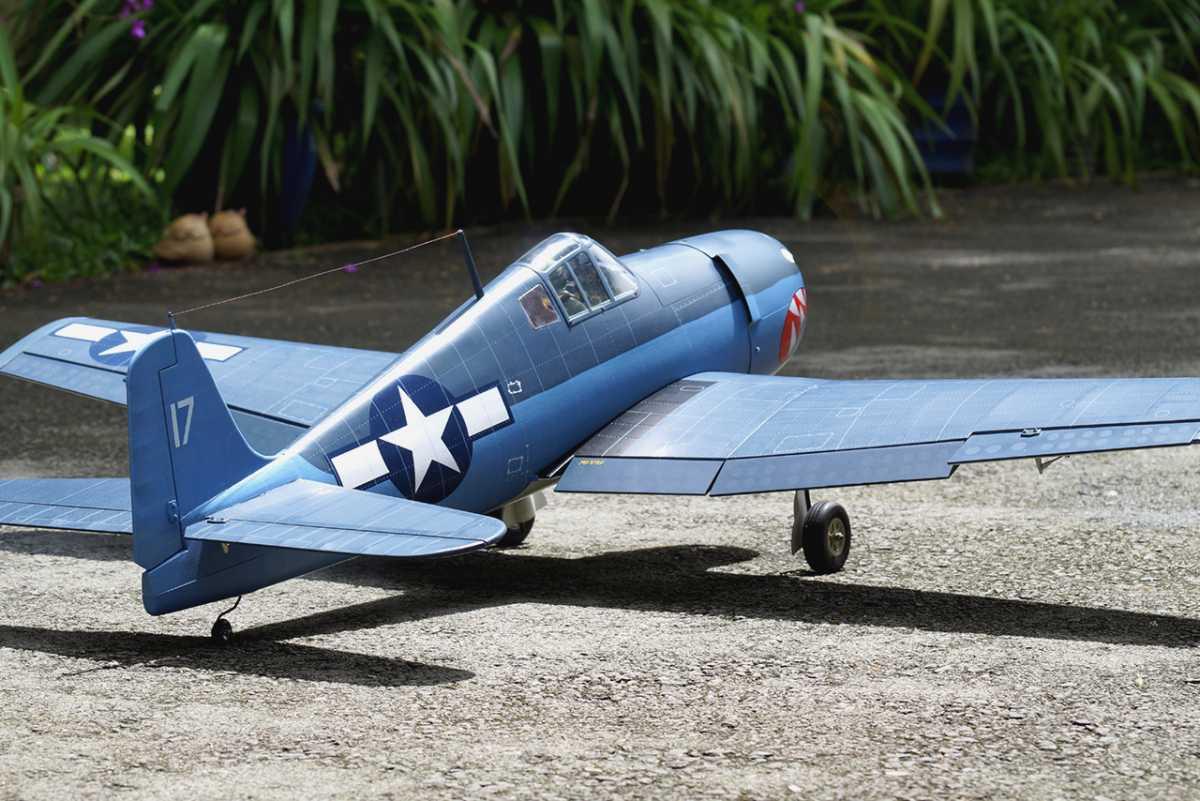 F6F Hellcat 46 size EP-GP ヘルキャット 両用機