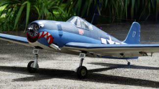 F6F Hellcat 46 size EP-GP