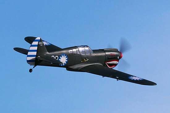 P-40 AVG 60 size EP-GP フライングタイガース 両用機