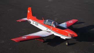 Pilatus PC-7 EP-GP 46 size