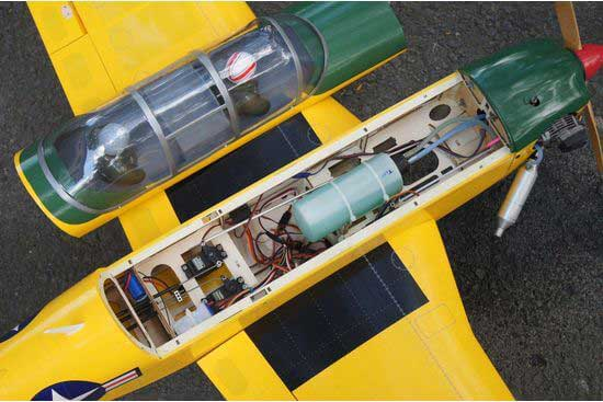 T-34 Mentor EP-GP 46 size Yellow version メンター 両用機