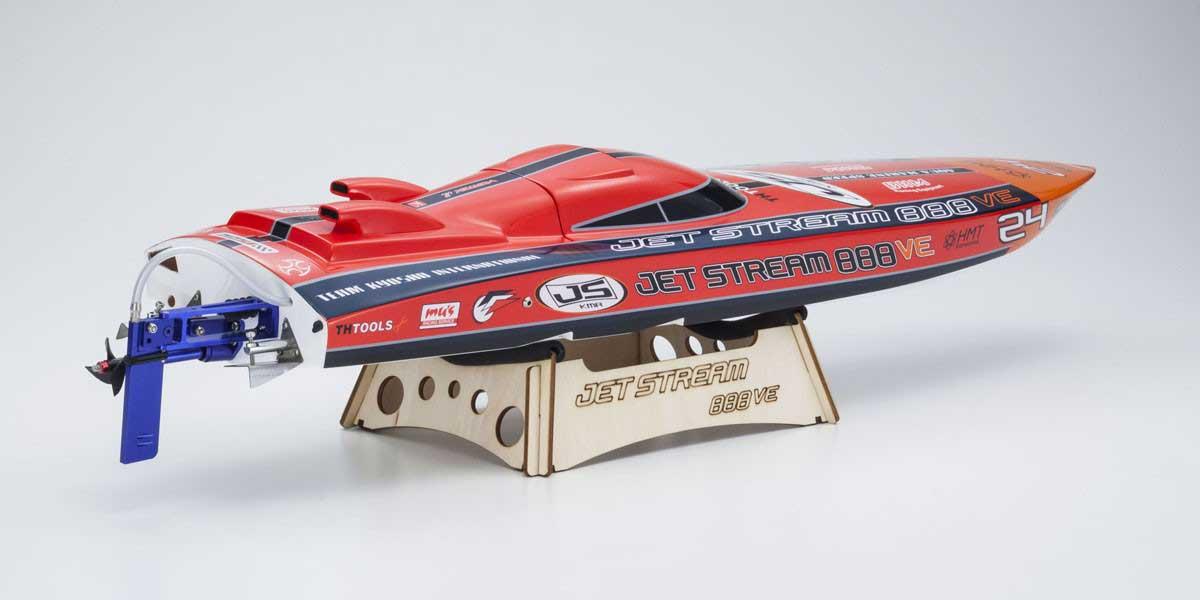 電動レーシングボート ジェットストリーム888VE レディセット KT-231P付 40232S