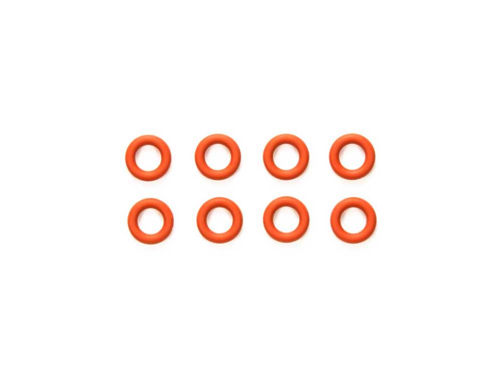 ギヤデフ用5mm Oリング (赤・8個)