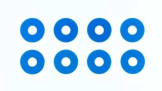 OP.1573 0.75mmホイールスペーサー (ブルー) 8枚