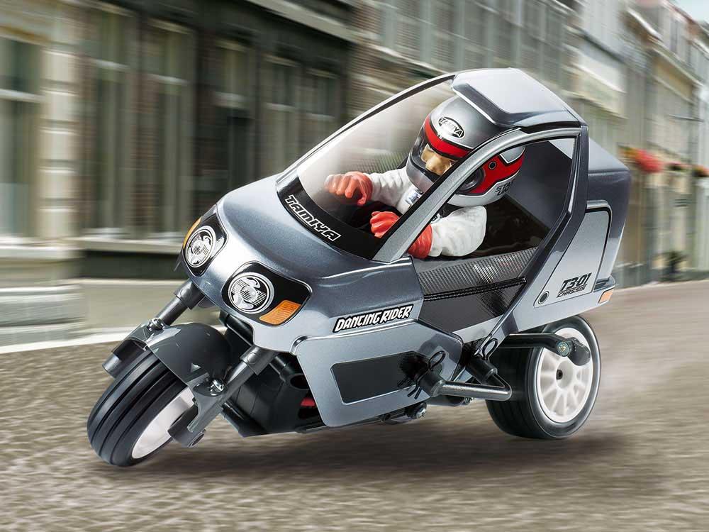 タミヤ トリプルホイールシリーズ 1/8 ダンシングライダー(組立キット)(T3-01シャーシ) 57405