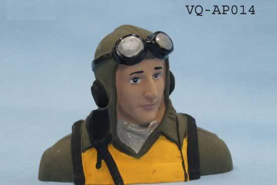 VQ MODELS パイロット人形(P-47D 20 size ) VQ-AP014