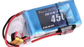 Gens ace 450mAh 11.1V 25C 3S1P Lipoバッテリー JST-SYP plug
