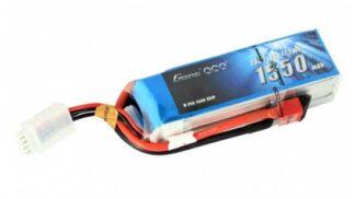 Gens Ace 1550mAh 11.1v 25C 3S1P Lipoバッテリー Deans plug
