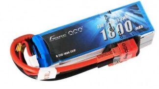 Gens ace 1800mAh 11.1V 25C 3S1P Lipoバッテリー Deans plug
