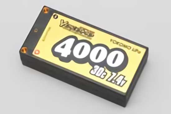 YOKOMO Li-po 4000mAh 2S 7.4V ショートサーイズ