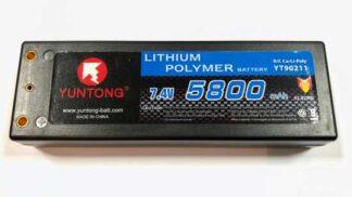 Yuntong Li-po 7.4V 5800mAh