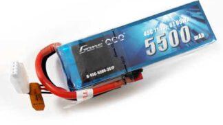 Gens ace 5500mAh 11.1V 45C 3S1P Lipoバッテリー Deans plug