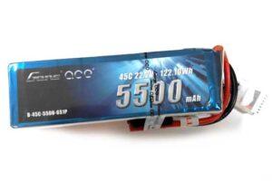 Gens ace 5500mAh 22.2V 45C 6S1P Lipoバッテリー Deans plug