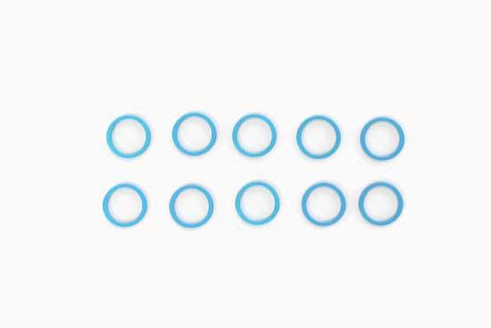 5x1.5mmスペーサー(青)(10個)