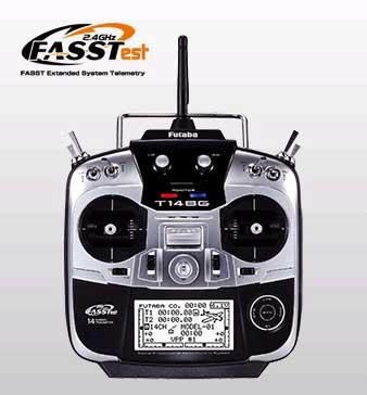 フタバ 14SG(14ch-2.4GHz FASSTestモデル) ヘリコプター用 00008408-1