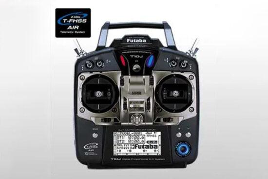 フタバ 10J(10ch-2.4GHz T-FHSS AIRモデル)ヘリコプター用 T/Rセット 00008433-3