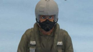パイロット人形(T-34 / PC-7)