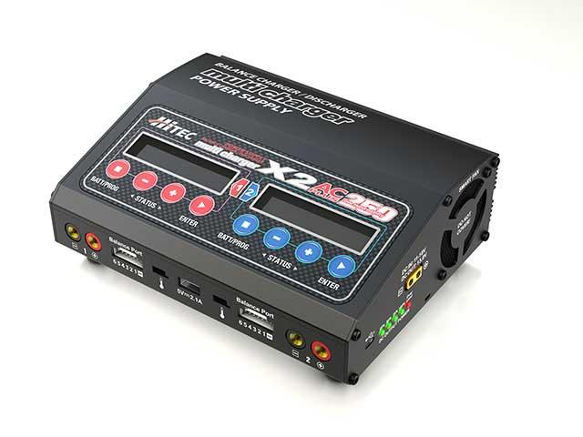 ハイテック multi charger X2 AC PLUS 250[マルチチャージャー X2 AC プラス 250] 44268