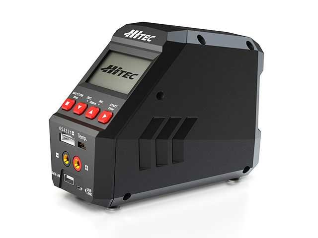 ハイテック multi charger X1 BLACK[マルチチャージャー X1 ブラック] 44269