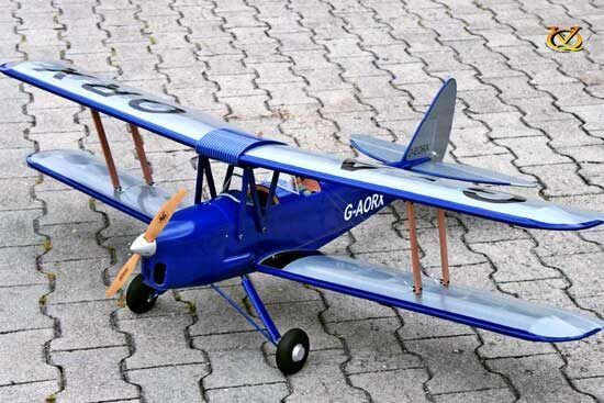Tiger Moth 46 size EP-GP Dark - Blue version タイガーモス 両用機