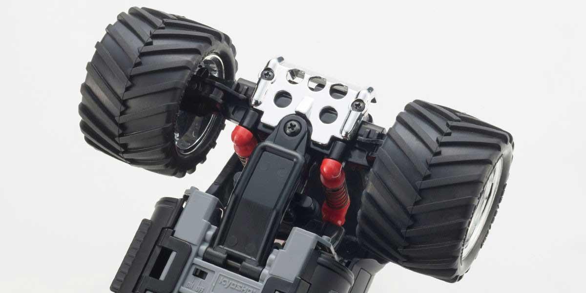 ミニッツモンスターEX  マッドフォース マットブラック レディセット 30093BK