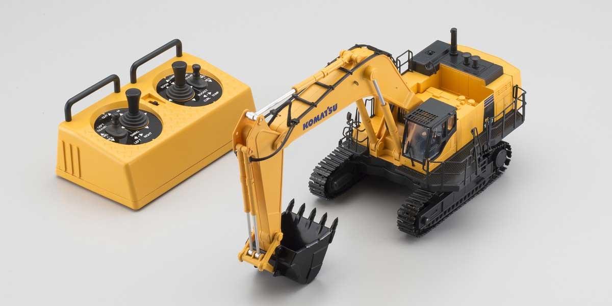 1/50スケール 完全完成テーブルトップ IRC 建設機械 油圧ショベル  KOMATSU PC1250-8(HG) 66002HGA