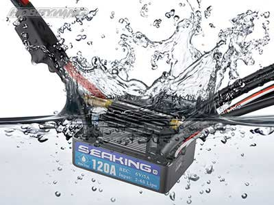 HOBBYWING SEAKING 120A-V3 BEC内蔵 5A/6V