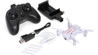 moova(White) 2.4GHz 4ch Quadcopter