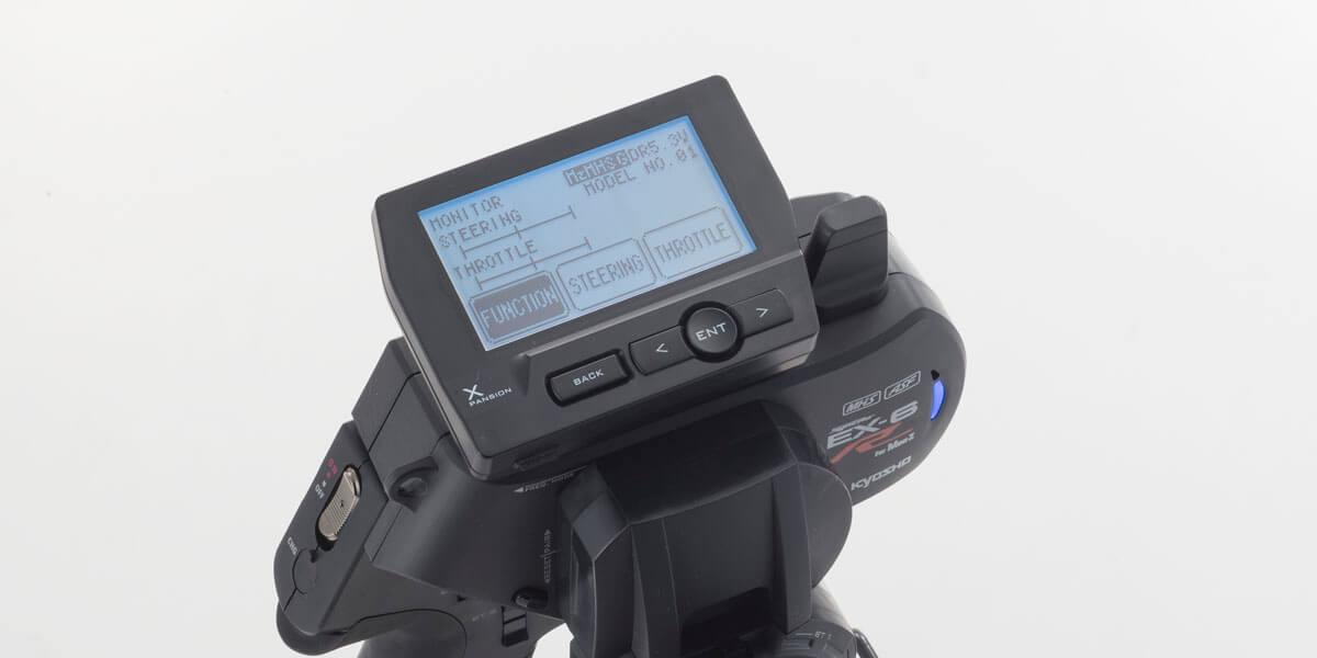 京商 MHS/ASF コンパチブル 2.4GHzシステム送信機 Syncro EX-6R 82031 82031