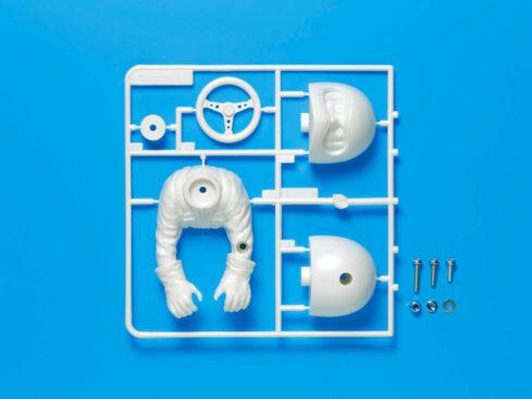 タミヤ OP.1531 WR-02 ドライバー人形セット (上半身タイプ) 54531
