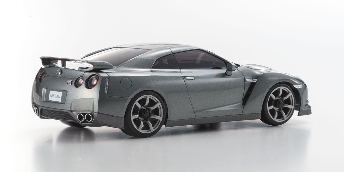 京商 ミニッツAWD MA-020スポーツ レディセット 日産 GT-R ダークメタルグレー【ドリフトタイヤ標準装着済み】 32141GR