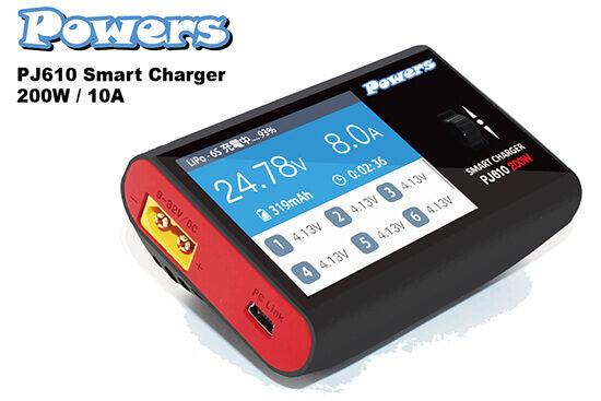 パワーズ PJ-610 スマートチャージャー 200W