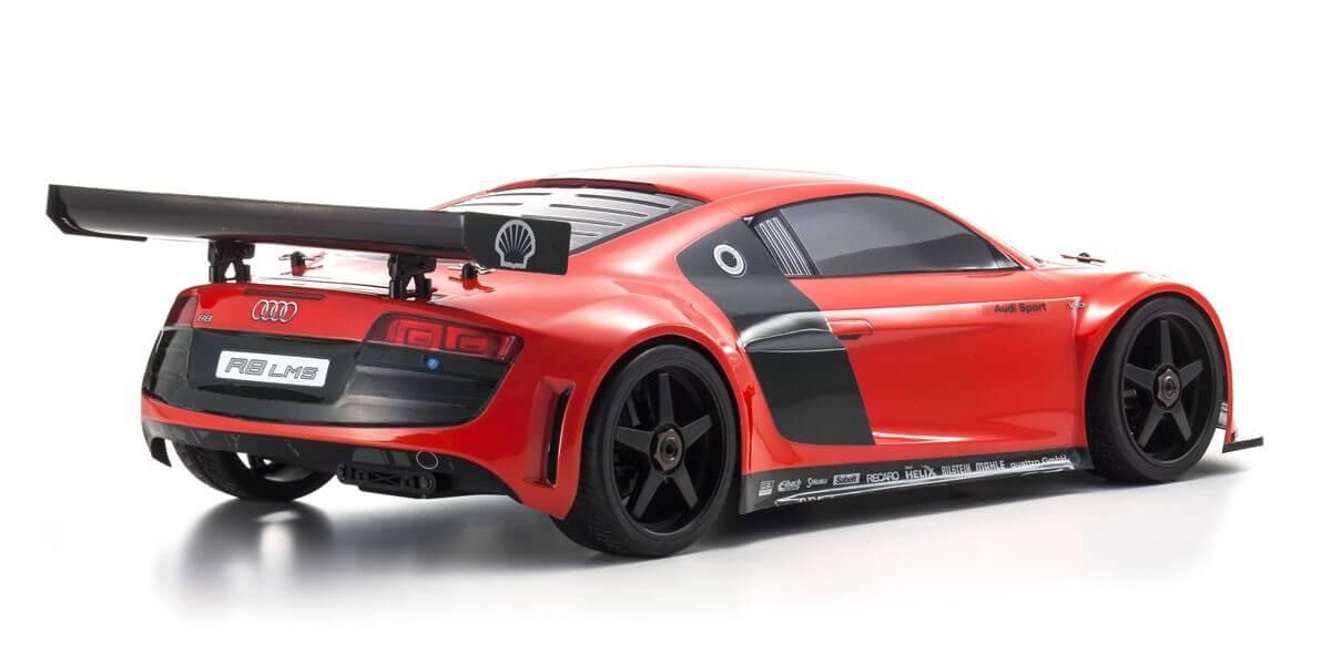 京商 インファーノGT2 RACE SPEC アウディ R8 LMS レッド KT-331P付 1/8 GP 4WD レディセット 33006