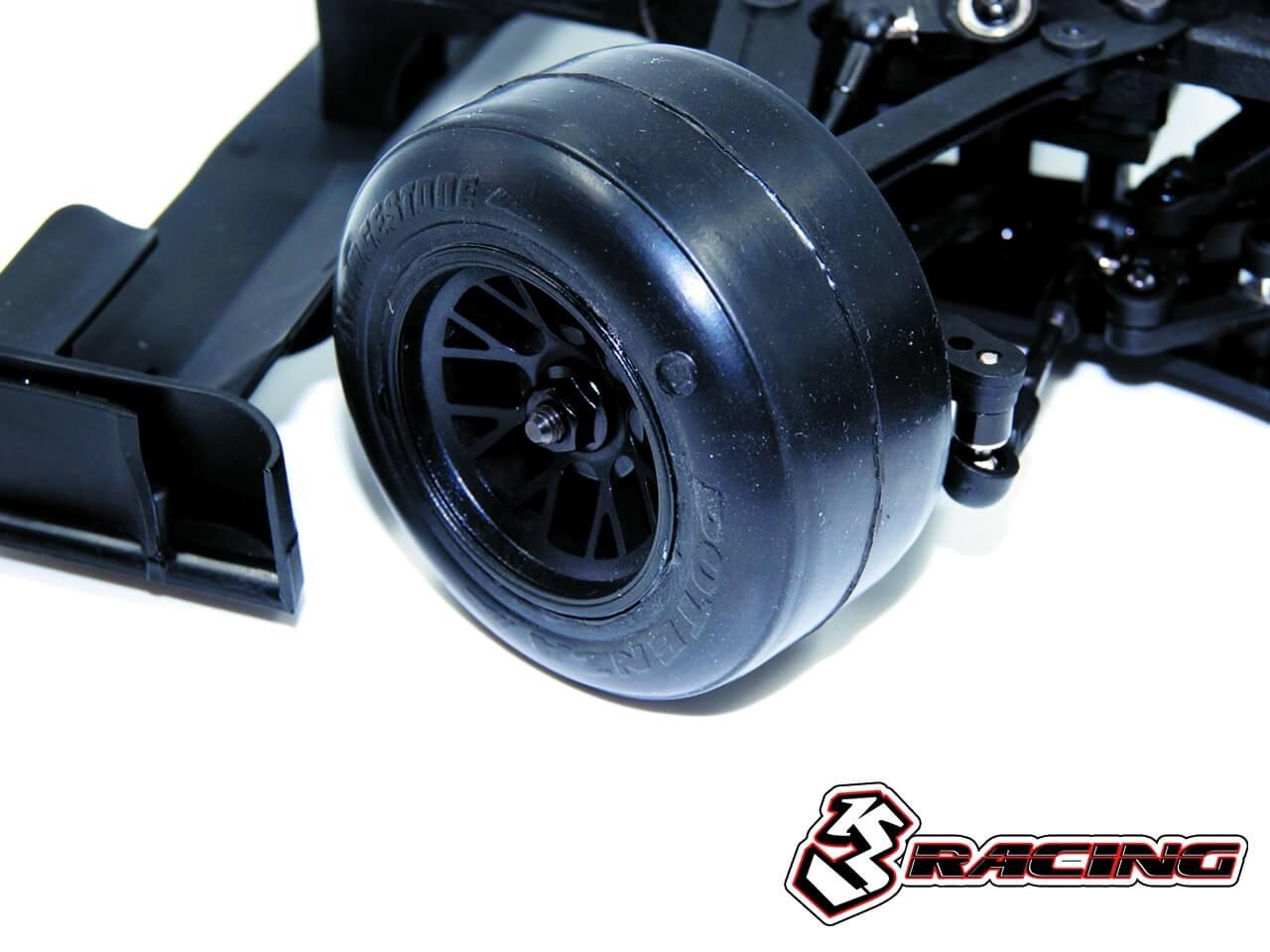 3レーシング Sakura FGX2018 1/10スケール・フォーミュラワンEPカー(CL) クリアボディー付き