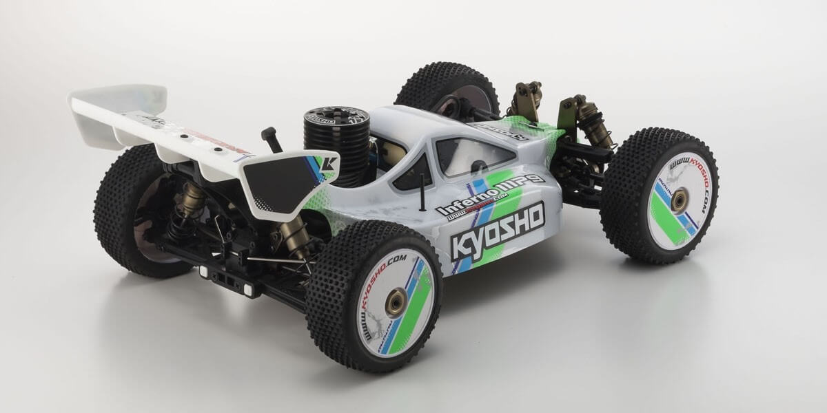 京商 インファーノ MP9 TKI3 T1(ホワイト) 1/8 GP 4WD レディセット 31889T1