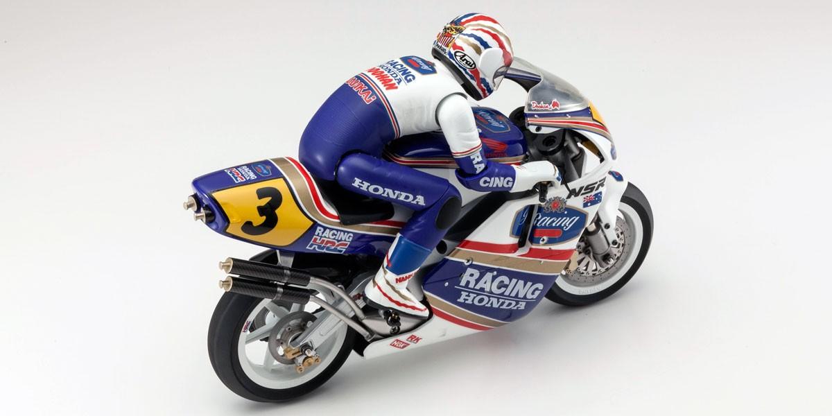 京商 ハングオンレーサー Honda NSR500 1991 1/8 EP 組立キット 34932