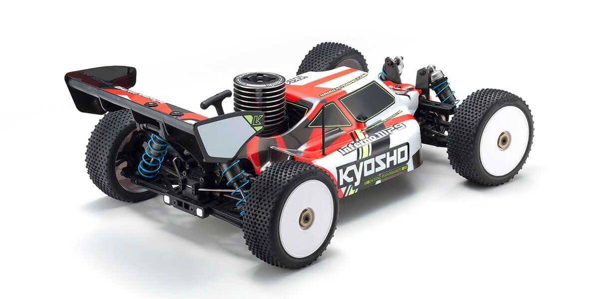 京商 インファーノ MP9 TKI4 カラータイプ1 レッド 1/8 21エンジン 4WD レディセット 33014T1