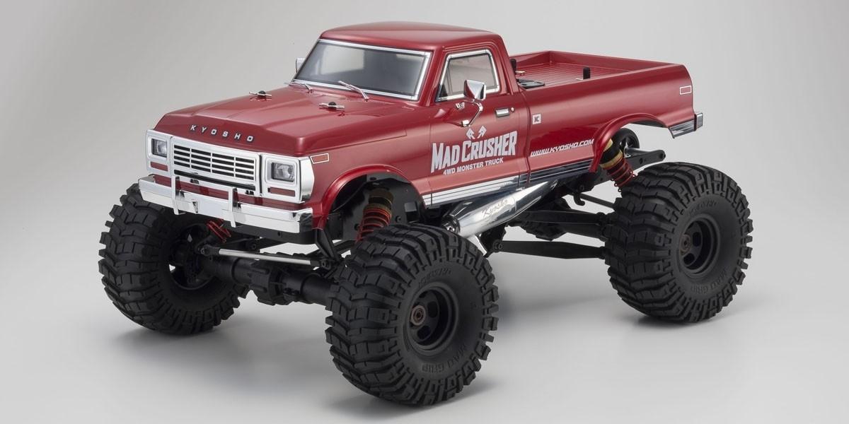 マッドクラッシャー 1/8 25エンジン 4WD モンスタートラック レディセット