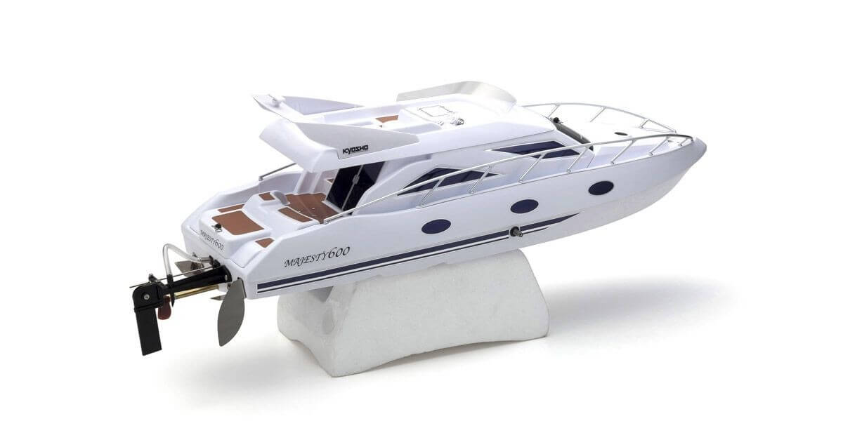 京商 ラジオコントロール電動ボート EPマジェスティ600 r/s KT-231P+付 40133