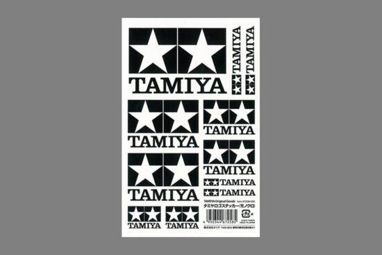 タミヤ ロゴステッカー(モノクロ) 67258
