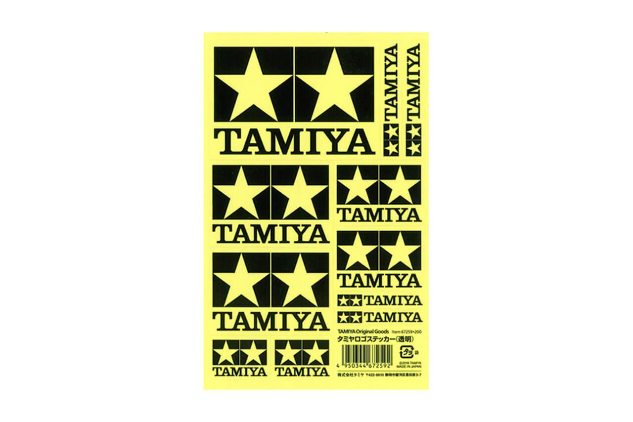 タミヤ ロゴステッカー(透明) 67259