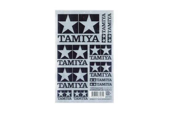 タミヤ ロゴステッカー(シルバー) 67261