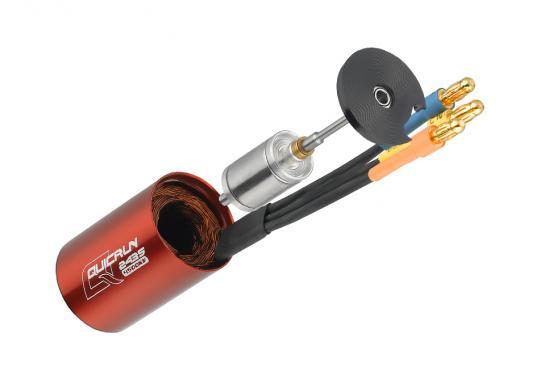 ホビーウィング QuicRUN-2435-G2-4500KV 1/18 1/16用 センサーレスブラシレスモーター