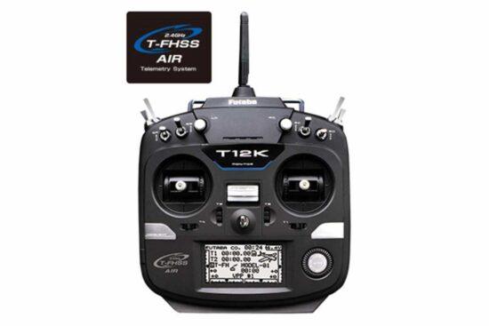 フタバ 12K(12ch 2.4GHz T-FHSS AIRモデル) ヘリ用 T/Rセット(R3008SB付) T12KH