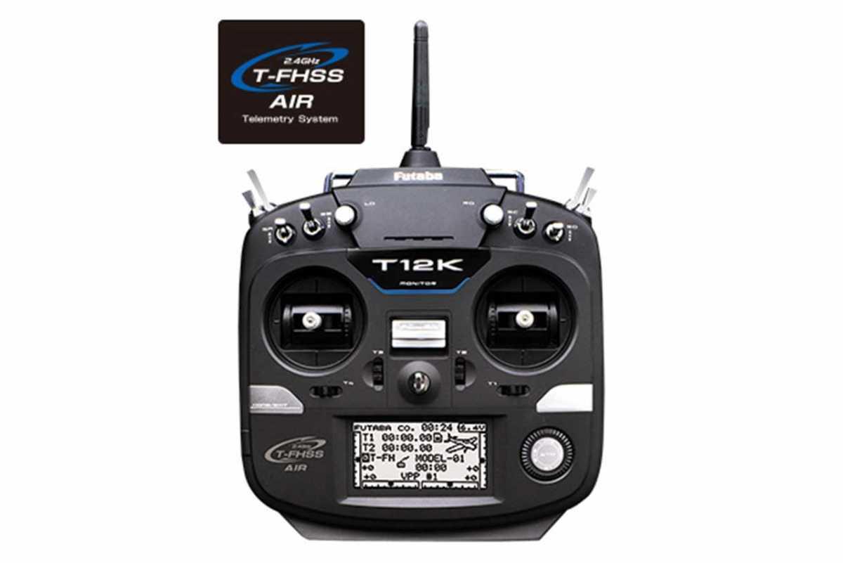 フタバ 12K(12ch 2.4GHz T-FHSS AIRモデル) ヘリ用 T/Rセット(R3008SB付) T12KHT12KH<030512>