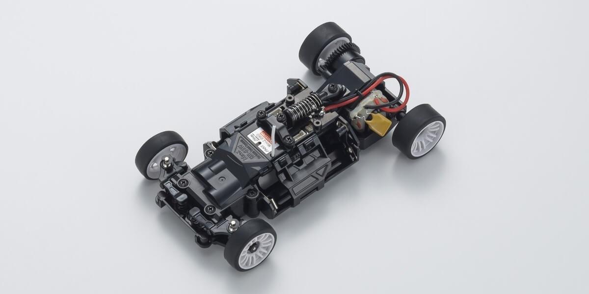 """京商 ミニッツRWDシリーズ レディセット Audi R8 LMS 2016 """"Gray/Red"""" 32323RGB"""
