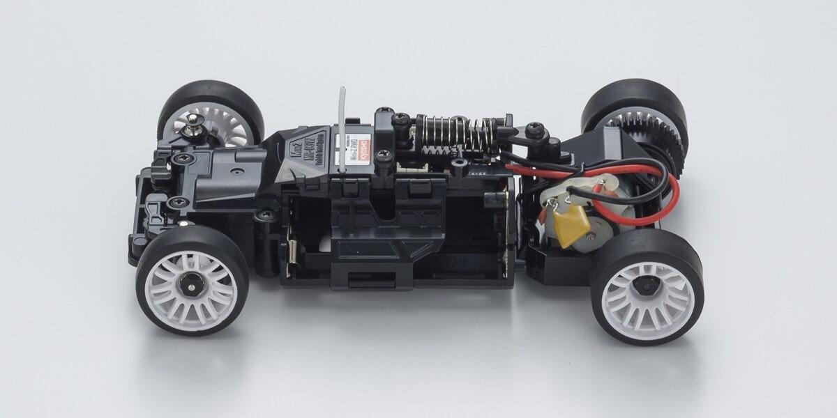 京商 ミニッツRWDシリーズ McLaren P1 GTR シルバー/オレンジ レディセット 32324SO